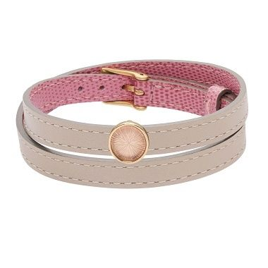 The new sliding crystal medals for leather bracelets are going to brighten any outfit our yours! Many colors available on www.lilouparis.com #lilou #bracelet #crystal #medal #colors #new