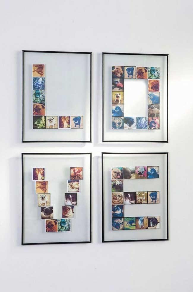Foto-Panel: 60 kreative Ideen und wie Sie Ihre eigenen machen