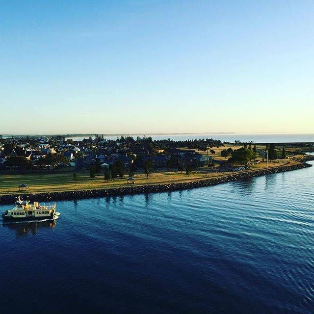 Morning Shot: Instagram's @johcol68 shared this shot of Stockton as the Pacific Aria arrived in Newcastle on Wednesday morning.