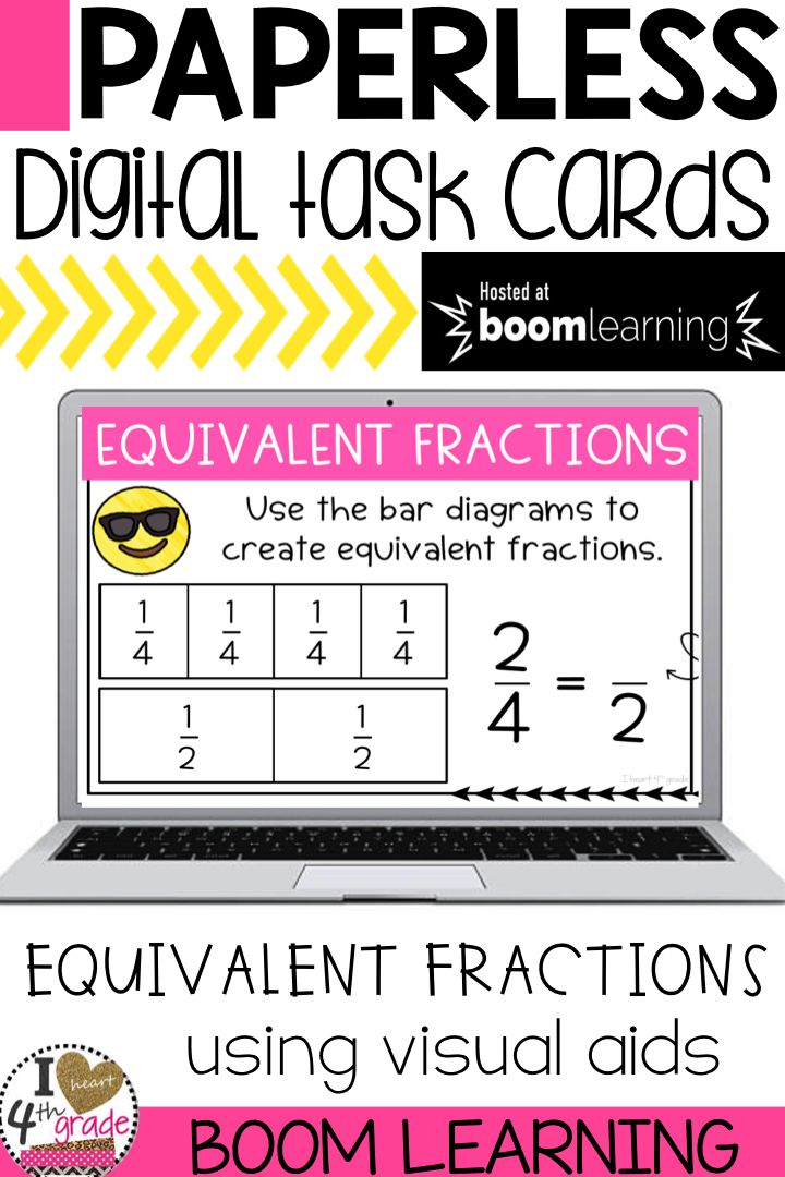 how to teach grade 5 equivalent fractions