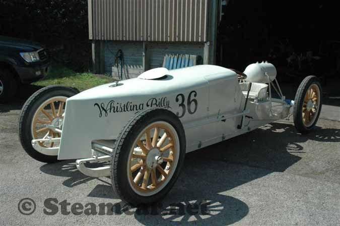 1904/05 White Whistling Billy steam racer.