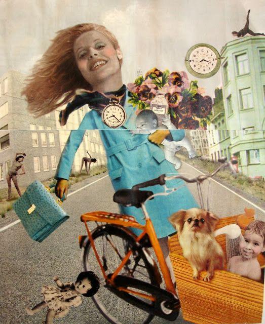 Margootje - Collage uit tijdschrift