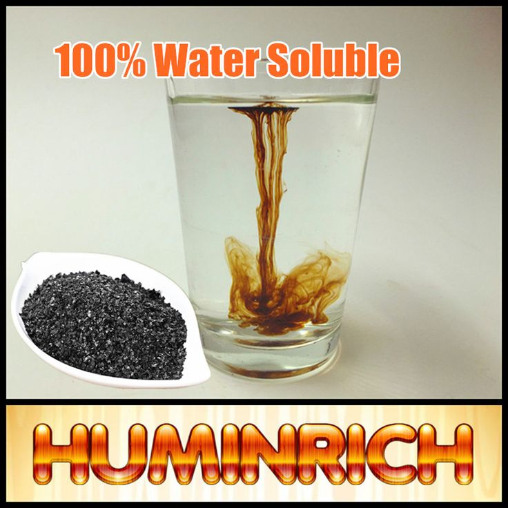 Huminrich Potassium Humate 100% Water Soluble Hight Quality Worm Cast Compost