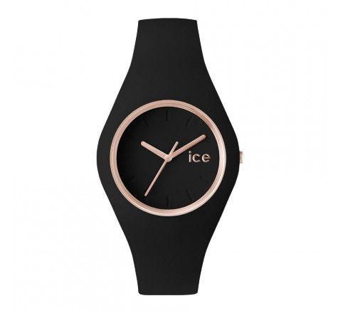 Ice-Watch Glam Black Rose-Gold Unisex horloge ICE.GL.BRG.S.S.14, 79€