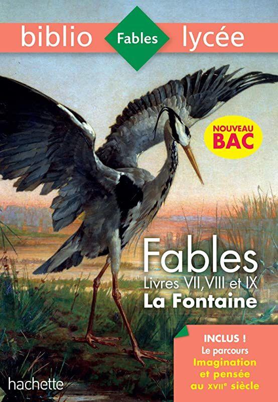 Download Bibliolycee Fables De La Fontaine Bac 2020 1eres Technos Parcours Imagination Et Pense France Photos Fables Fontaine