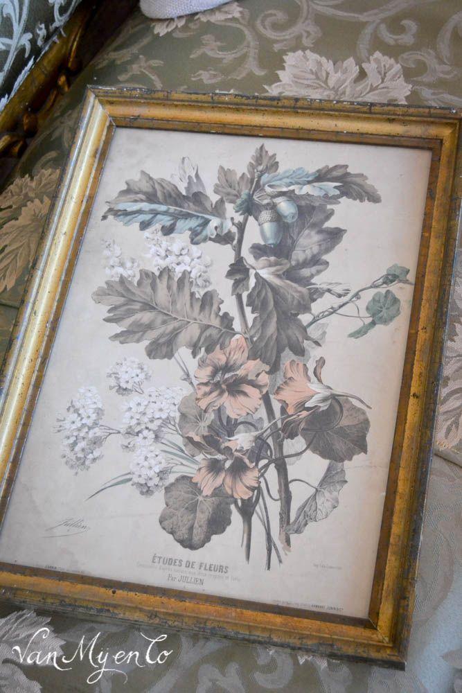 Frans antiek in bois doré uit 1843