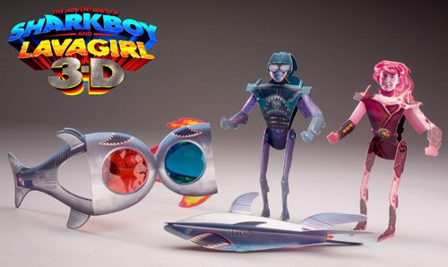 Kids Toys Action Figure: 38 Best Images About Amy And SharkBoy And LavaGirl On