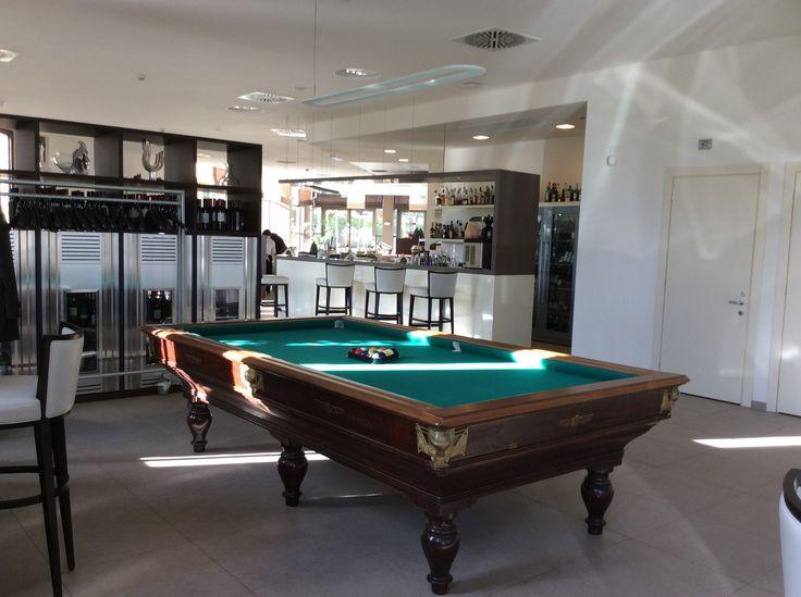 New Biliardo in the Pool and Lounge bar