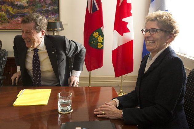 Mayor John meeting with Premier