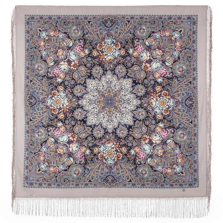 Бенефис-9 * Павловопосадские платки и шали * Russian Pavlovo Posad shawls