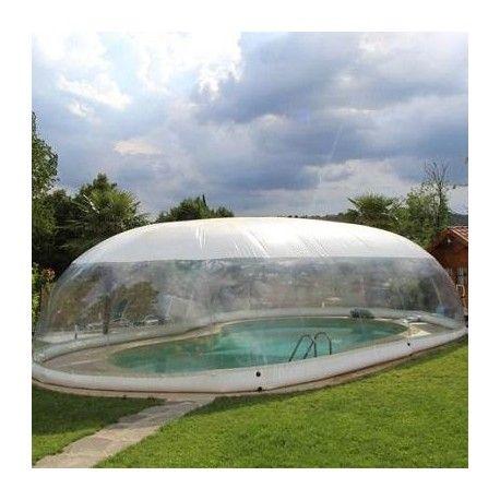 La Copertura gonfiabile per piscina CristalBall WHT è la soluzione innovativa, funzionale ed economica per sfruttare la tua piscina 365 giorni all'anno. Prezzi imbattibili