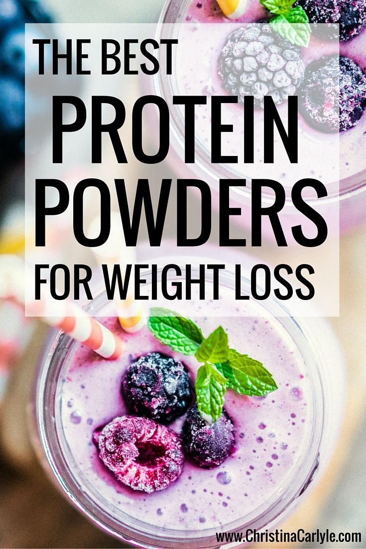 Protein Powders for Weight Loss | health | Pinterest ...