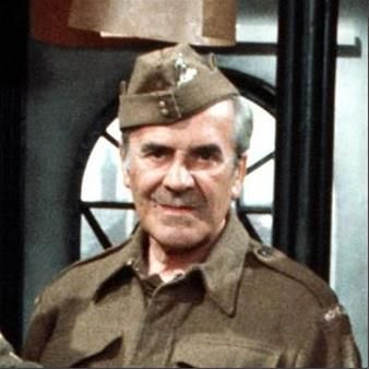 "John Le Mesurier (1912-1983) appeared in more than 100 films and countless TV series. His acting style was characterised by his good-natured vagueness, which his friends said closely resembled his own personality. His most famous TV role was the bumbling   Sergeant Wilson in 'Dad's Army'. He wrote his own death notice in The Times: ""John Le Mesurier wishes it to be known that he conked-out on November 15th. He sadly misses family and friends."" His last words were ""It's all been rather…"