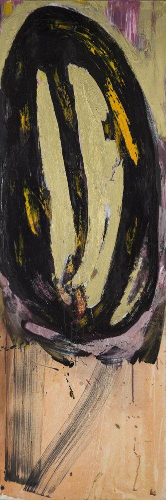 Sans titre (no198) - Marcelle Ferron - Galerie Simon Blais - 5420, boul. St-Laurent, Montréal. Follow the biggest painting board on Pinterest: www.pinterest.com/atelierbeauvoir
