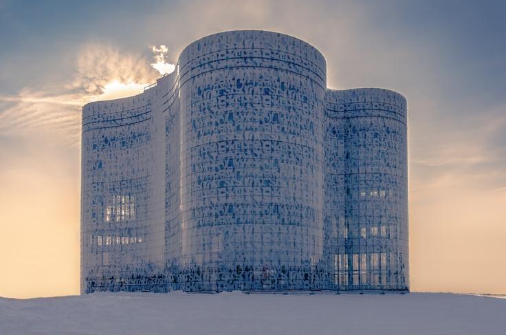 New Die Uni Bibliothek von Cottbus Gebouwen en Architectuur Pinterest Architecture