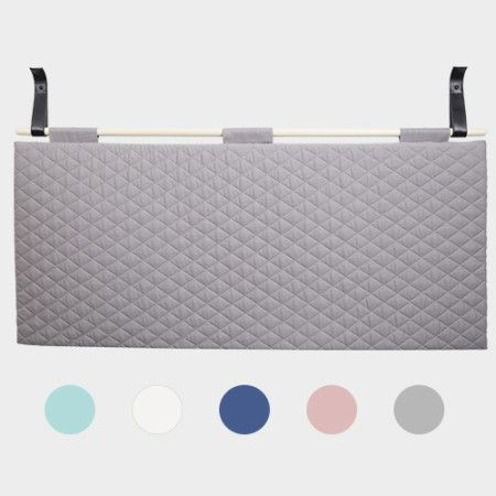 Headboard from PYTT Living available in five different colors.