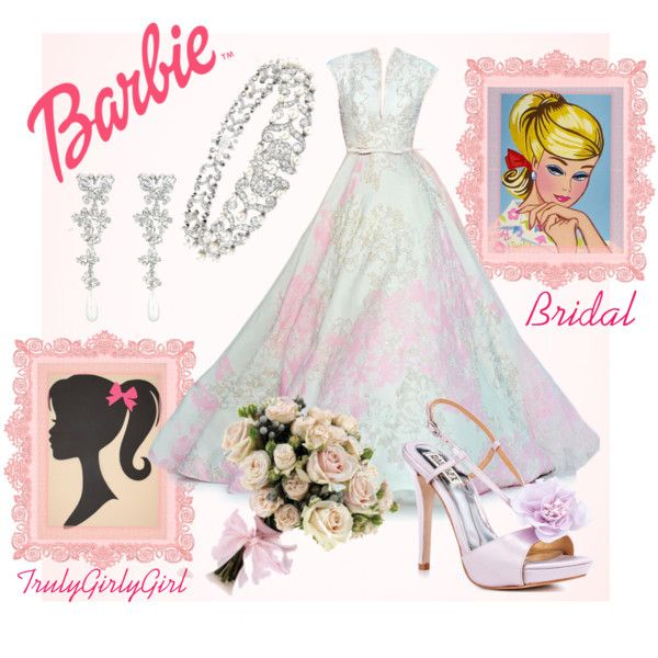 """Barbie: Bridal"" by trulygirlygirl on Polyvore"