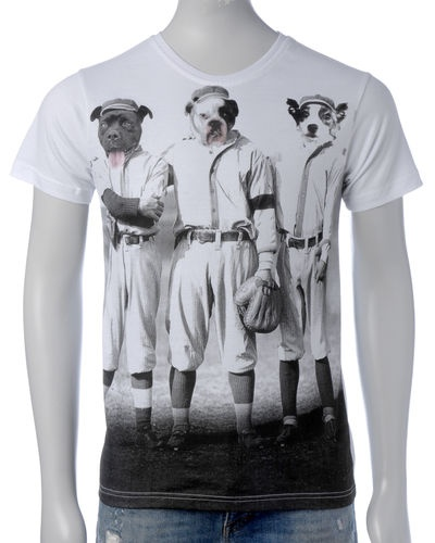 Kleidung Kingdom T-skjorte (White) - Smartguy.no - $110nok