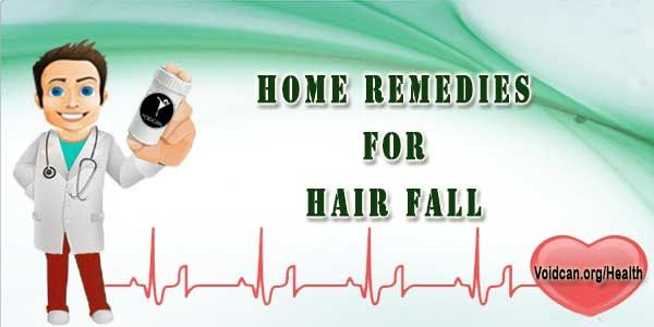 Voidcan.org shares with you simple and easy home remedies for hair fall.