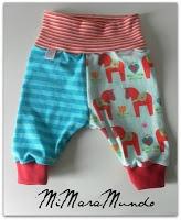 XIANA pantalón 3-6 meses, con tutorial