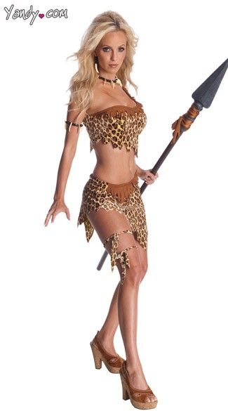 Sexy cave girl!! Purchase cave women costumes like this Sexy Jane at Yandy! #Yandy