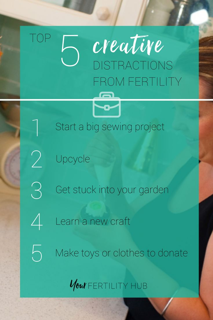 Indulging your creative side is really great whilst #ttc. It can give your brain a break from everything and help you feel more like yourself. Try our 5 ideas for some good #creative distractions. Join Your Fertility Toolbox for free to access this and SO much more! #infertility #fertility #ttcsisters