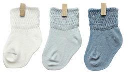 Petites Pattes Mixed Plain Sock Box