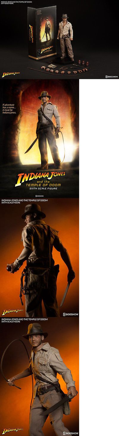 Toys And Games: Sideshow Toys Indiana Jones And The Temple Of Doom 1/6 Scale Figure Set New BUY IT NOW ONLY: $219.99