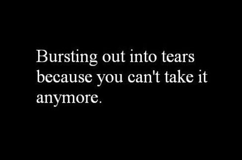"""If we didn't, none of us would be """"normal."""" Never let anyone tell you it's not ok to cry. Healing starts with the heart. The heart holds the cup-of-tears. When the cup is full, the tears must fall before healing can take place. Fibro Strong Warrior."""