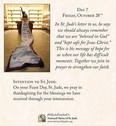 Saint jude novena testimonials