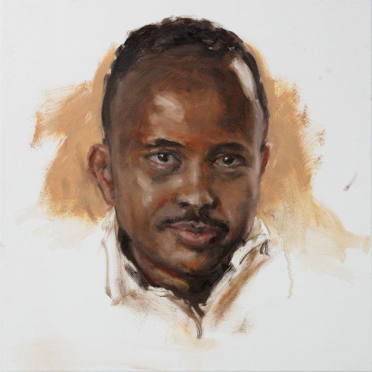 https://flic.kr/p/RyDu5e | Philip Knipscheer portrait study of Zaïd 2017