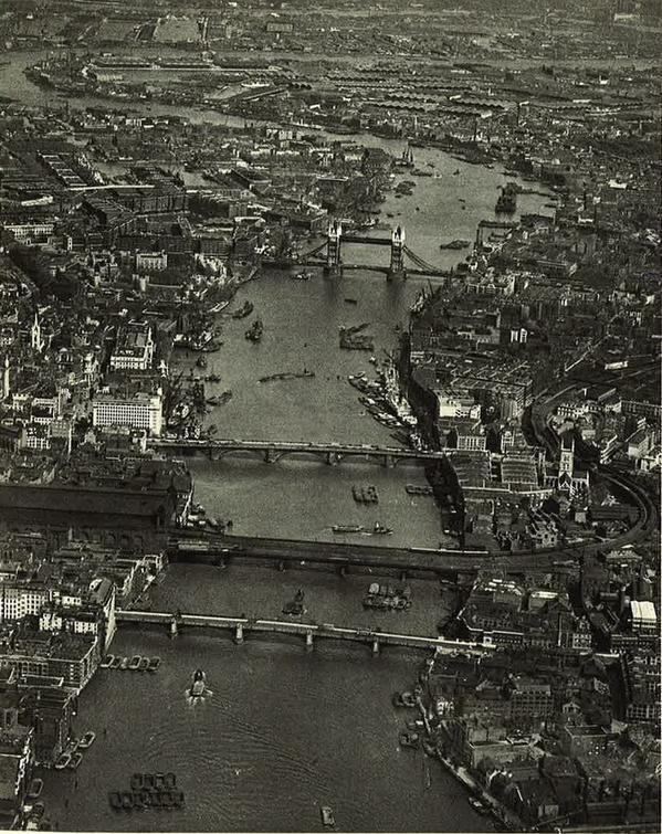 London, looking east, 1935