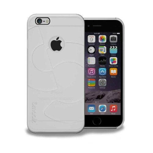 Smaak™ Sleek Ultra Thin PC Case  for iPhone 6 - Clear. For more info visit http://ismaak.com