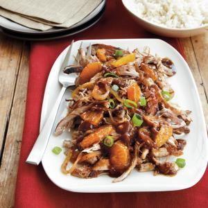 Slow Cooker Recipes Under 300 Calories | Sweet and Spicy Satsuma Turkey | MyRecipes.com