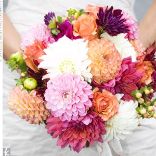 65 best Flowers images on Pinterest Purple dahlia Bridal