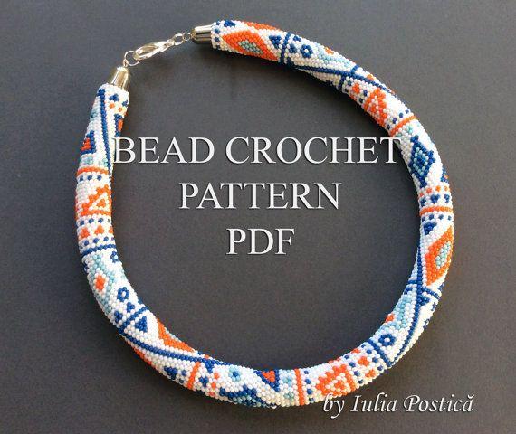 "My bead crochet pattern ""Ethnic way"""