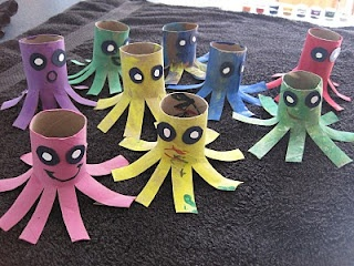 octopus: Crafts Ideas, Ocean Dioramas, Kiddo Stuff, Ocean Crafts, Toilet, Kids Crafts, Diorama Ideas, Octopuses