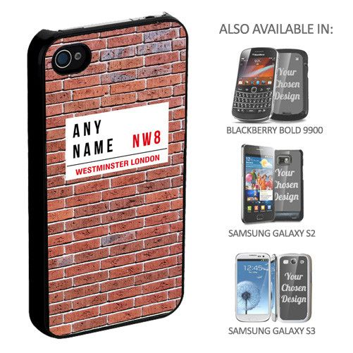 Personalised Road Sign Phone Cover - yourgifthouse