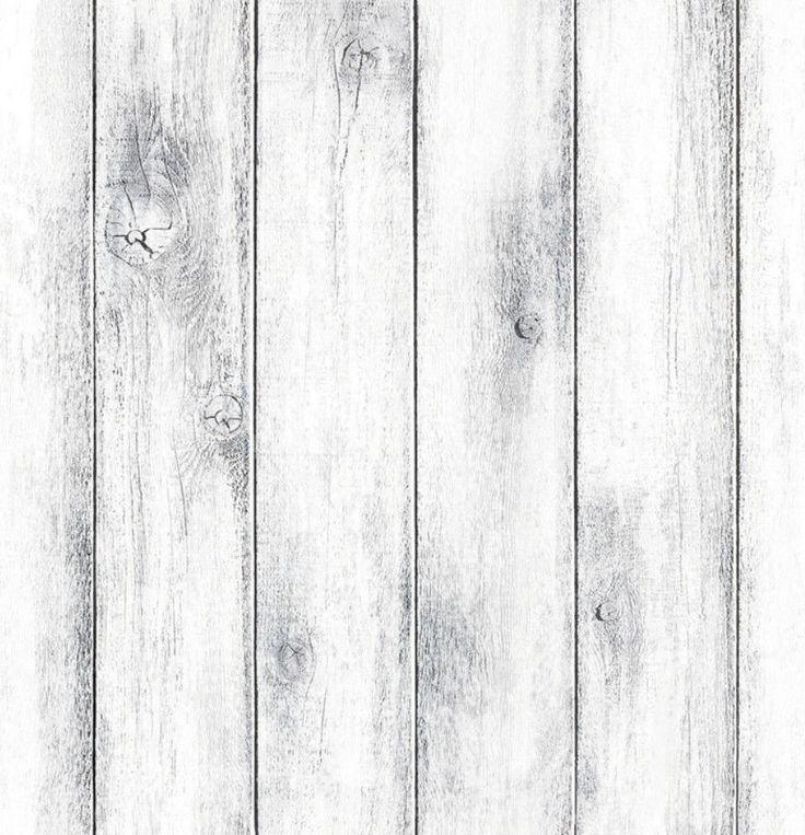 Whitewash Wood Panel Self Adhesive Vinyl Contact Paper Wallpaper Peel Stick 5M