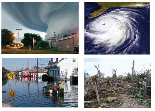 Ciclones y huracanes. Aproximadamente desde 1970 se ha observado un aumento de la actividad ciclónica tropical intensa en el Atlántico Norte. El aire caliente es combustible para los ciclones y los huracanes.