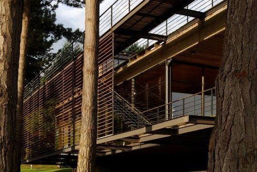 Casa Reutter, Mathias Klotz/Cachagua en V Región de Chile.