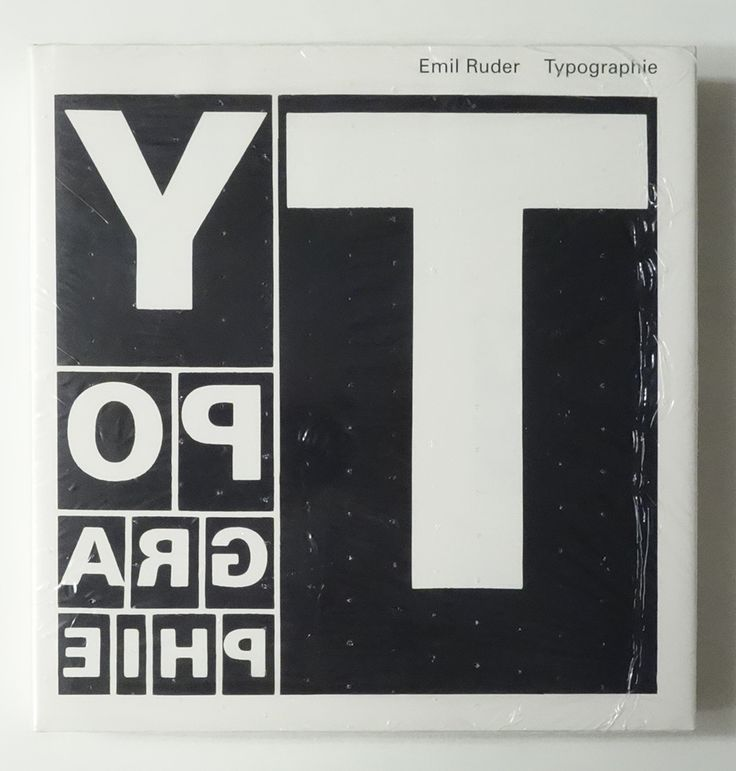 Typography: A Manual of Design | Emil Ruder