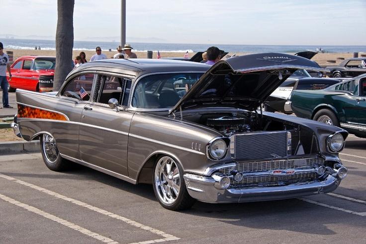 57 Chevy Hot Rod Lifestyle Pinterest