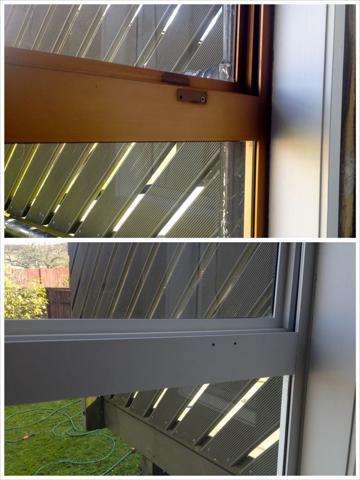 Window Recolouring 'Before & After' #renovation #windowrecolouring #beforeandafter www.windowrecolouring.co.nz