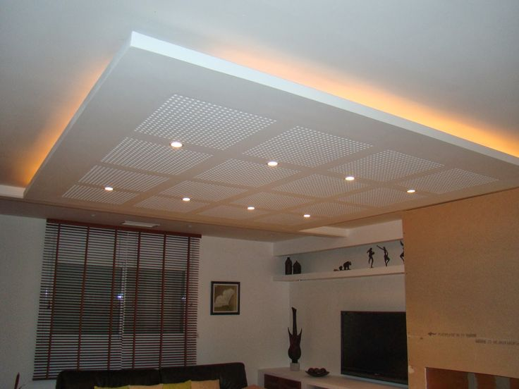 27 best luz indirecta techo images on Pinterest Ceilings, Ceiling - faux plafond salle de bain pvc