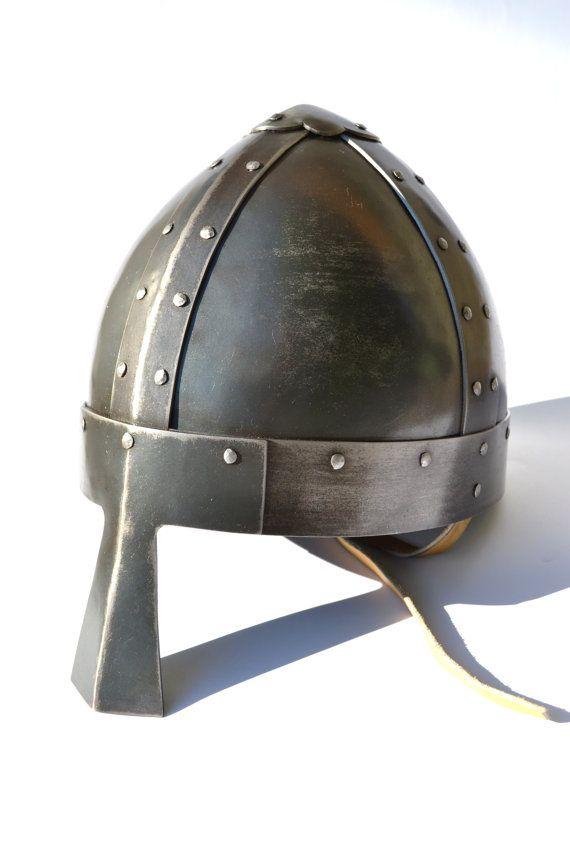 Viking conique Spangenhelm : Casque faites à la main on Etsy, 267,96€