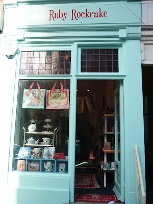 Ruby Rockcake    56 Broad Street, Lyme Regis, Dorset - been there :-) nice shop!