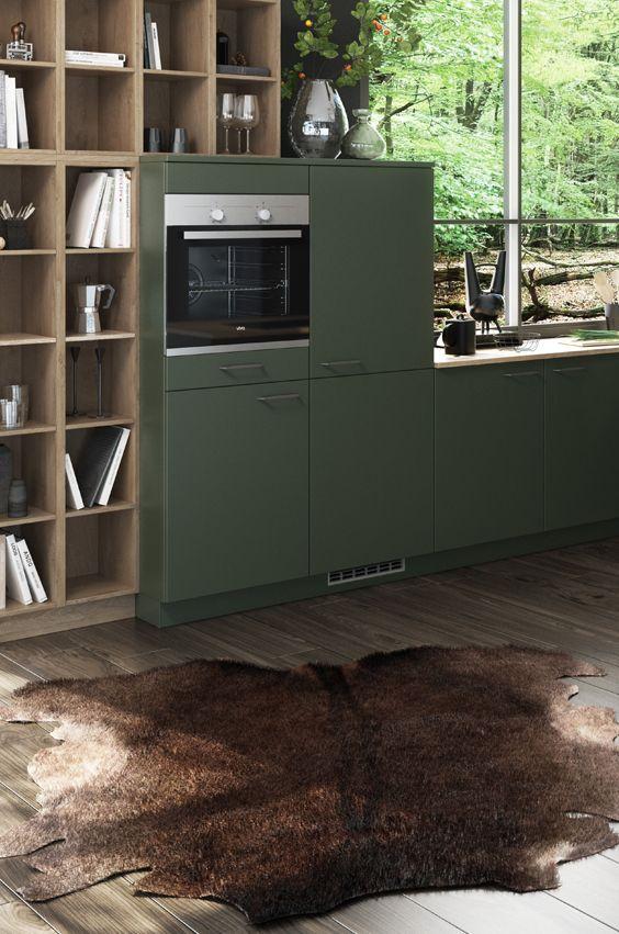 45 besten forest küche bilder auf pinterest | die küche, die natur ... - Grune Bodenfliesen Holen Natur Design