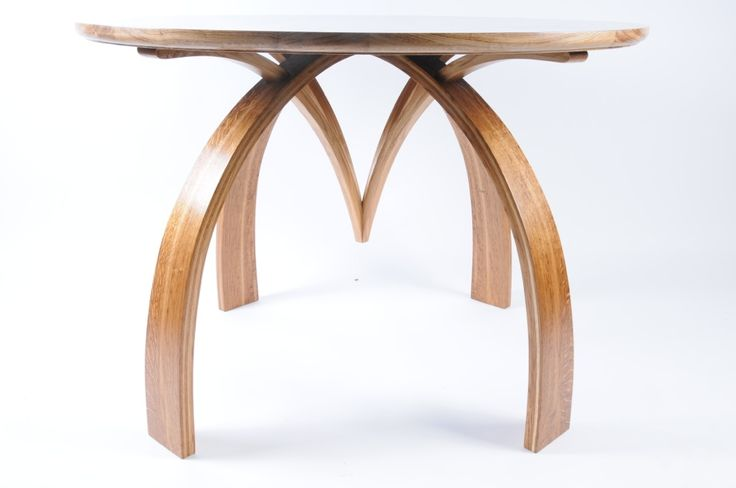 Beautiful exhibition table by Sam Anderson Fine Furniture