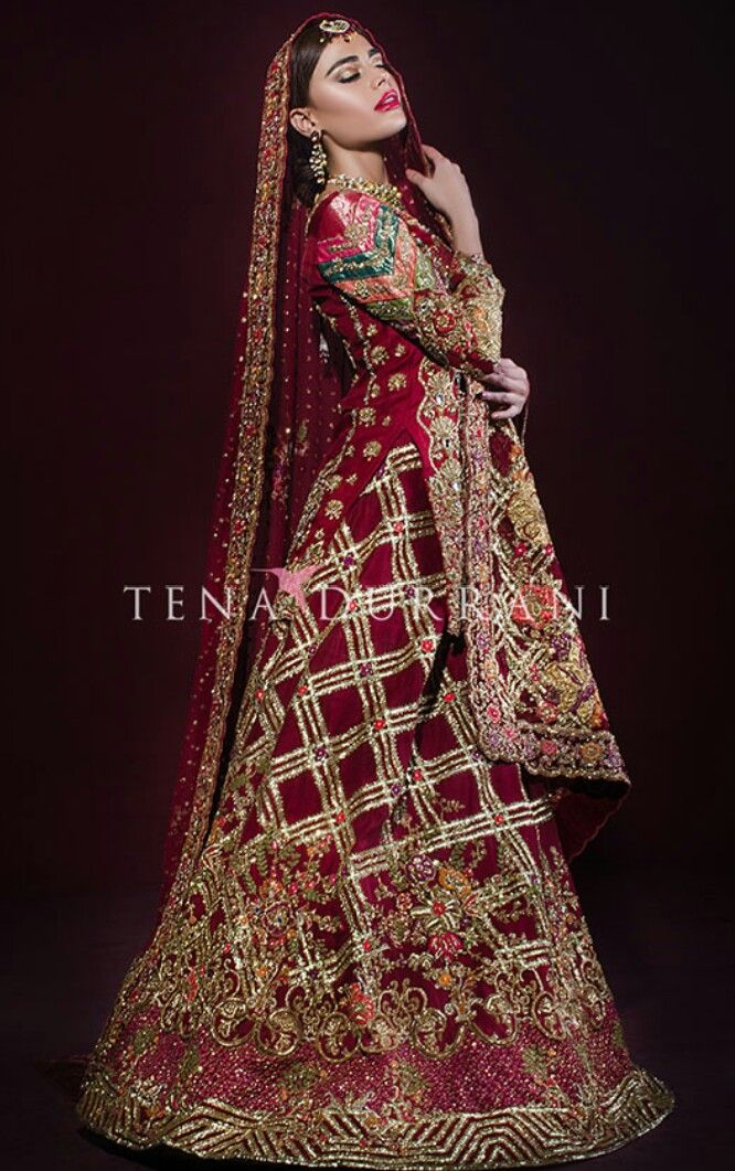 Tenna durrani Pakistani couture